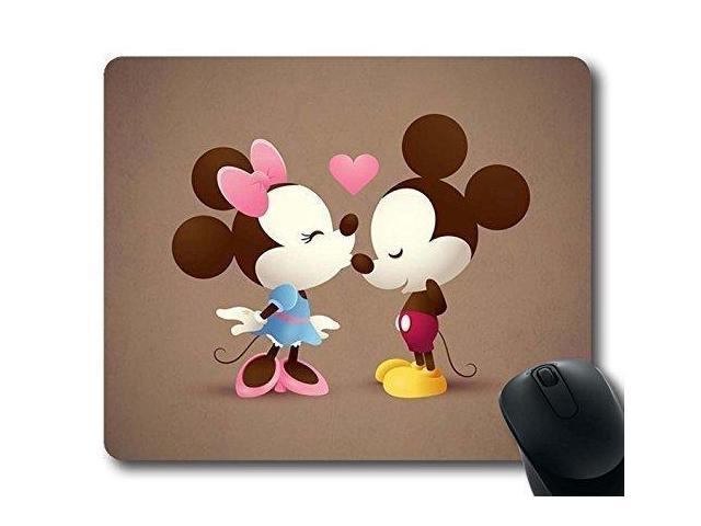 gaming mouse pad lover mickey minnie personalized mousepads natural