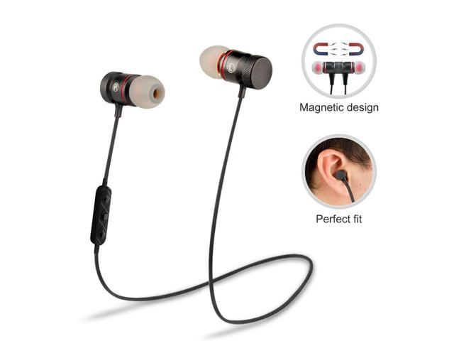 Supology Magnet Sport In Ear Bluetooth Earphone Earpiece Hands Stereo Headset Wireless Earphones With Mic For Iphone 7 Newegg Com