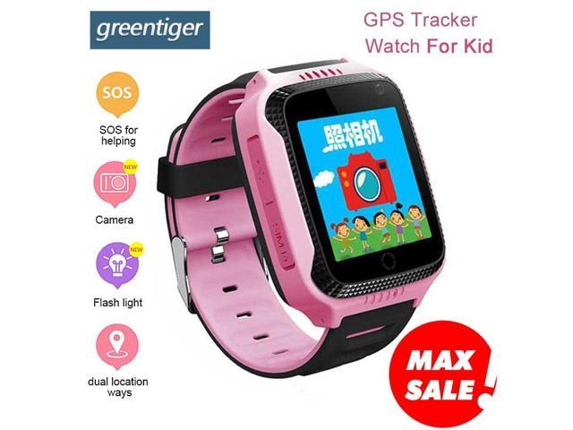 Greentiger Q528 GPS Kids Watch with Touch Screen Camera GPS Tracker watch  children Monitor SOS for Baby PK Q50 q90 - Newegg com