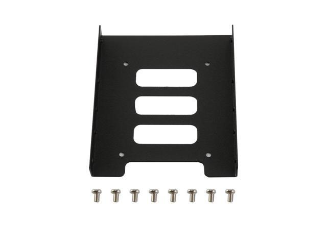 2.5 to 3.5 inch SSD to HDD PC Metal Adapter Mounting Brackets Hard Drive Holders