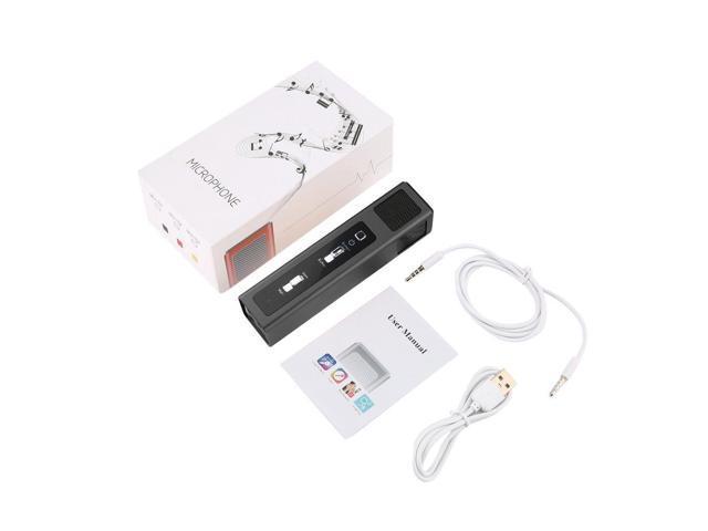 Portable Condenser Microphone Reverb Sound Effects Mobile Phone TV Karaoke  Mic Loseless High Fidelity AUX Port Music Studio - Newegg com