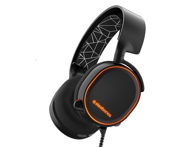 2bc8aa46caf SteelSeries Arctis 5 Gaming Headset with RGB Illumination and DTS Headphone:X  7.1 Surround for