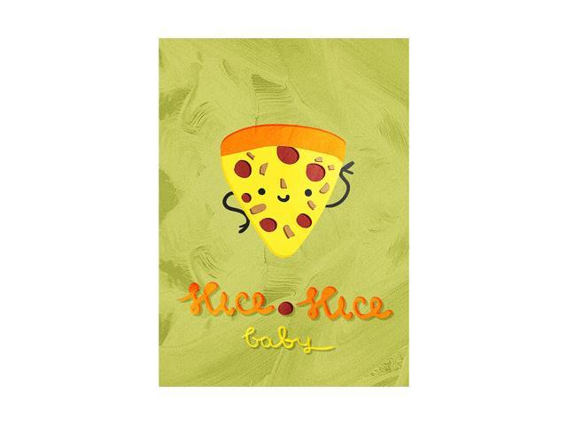 Slice Slice Baby Pizza Illustration Funny Home & Kitchen Pun Wall Metal  Small Sign - 4 Pack Of Signs, 7 5x10 5 Inch - Newegg com