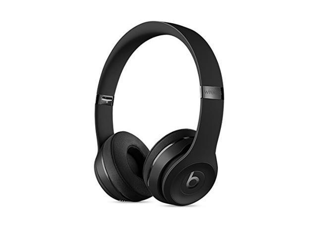 549bcef471d Refurbished: Beats by Dr Dre SOLO3 Wireless Headphones Black - Newegg.com