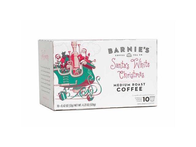 barnies coffee santas white christmas keurig k cups