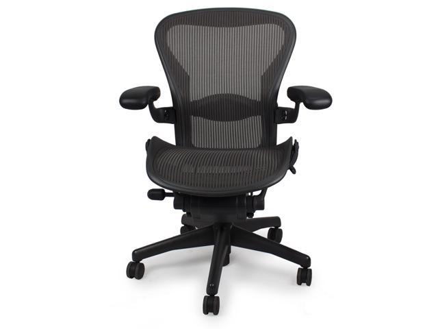 herman miller aeron size b fully adjustable newegg com
