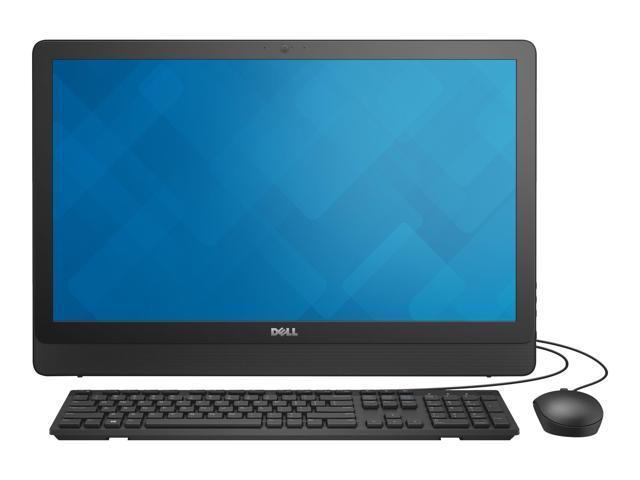 DELL All-in-One Computer Inspiron 3464 i3464-3000BLK Intel Core i3 7th Gen 7100U (2.40 GHz) 8 GB DDR4 1 TB HDD 23.8