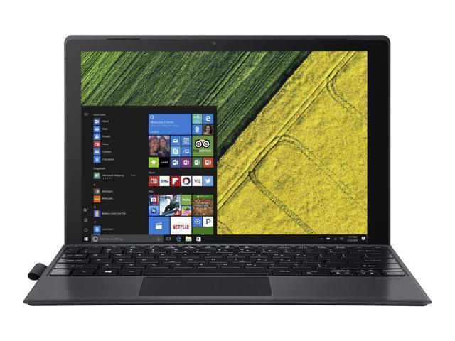 "Acer Switch 5 SW512-52-537L Intel Core i5 7th Gen 7200U (2.50 GHz) 8 GB LPDDR3 Memory 256 GB SSD Intel HD Graphics 620 12"" Touchscreen 2160 x 1440 Detachable 2-in-1 Laptop Windows 10 Home 64-Bit"