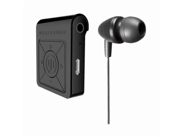 4116a424ea8 Wicked Audio Reach Bluetooth Receiver Earbuds Combo - Makes Any Wired  Headphone or Earbud Wireless -