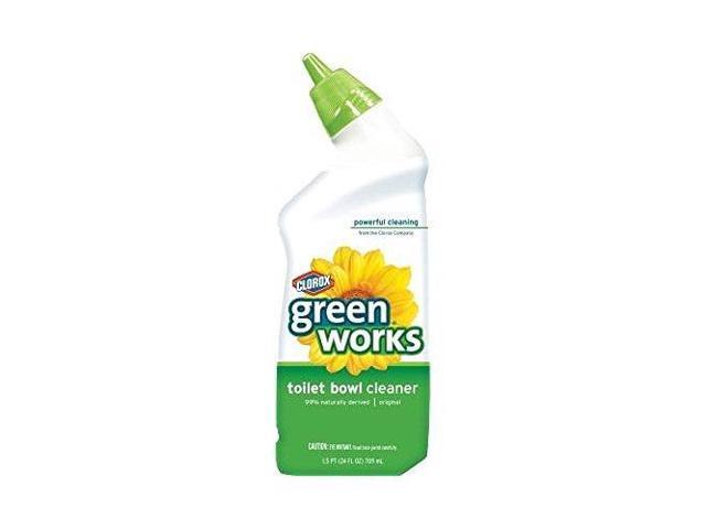 Clorox Green Works Manual Toilet Bowl Cleaner, 24 Oz