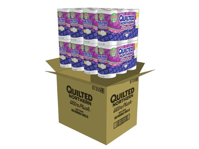 Quilted Northern Ultra Plush Bath Tissue 48 Double Rolls Newegg