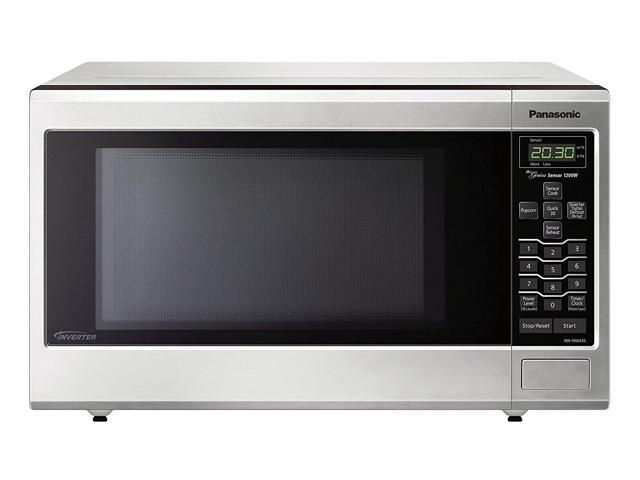 Panasonic Nn Sn643saz Stainless 1 2 Cu Ft Countertop Built In Microwave