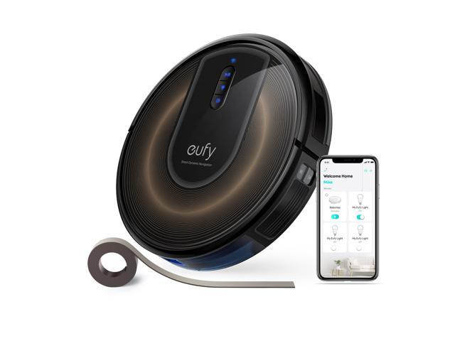 eufy by Anker, RoboVac G30 Edge, Robot Vacuum with Smart Dynamic Navigation 2.0, 2000Pa Suction, Wi-Fi, Boundary Strips, for ...
