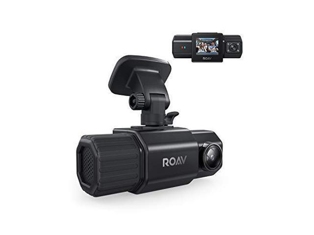 Anker Roav DashCam Duo, Dual FHD 1080p Dash Cam, Front and Interior Wide Angle Cameras, For Uber and Lyft, Supercapacitor, ...