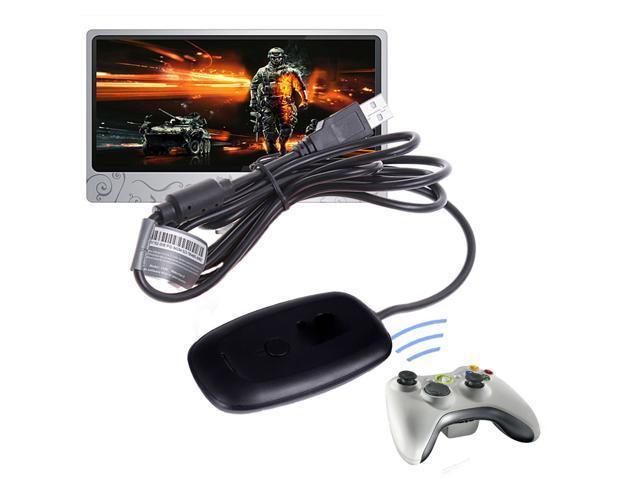 Jieyuteks USB Xbox 360 Wireless Receiver for Windows PC Controller ...