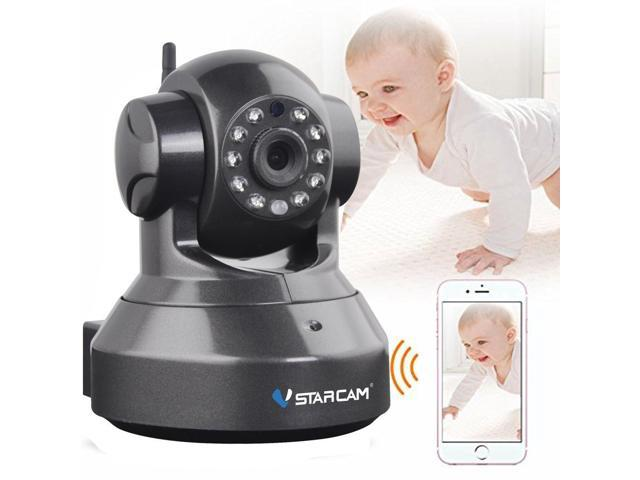 VSTARCAM Baby Monitor P2P HD 720P Wireless WIFI IP Camera Night Vision  Two-way Voice Network Indoor CCTV Onvif Multi-stream Mobile Phone Remote