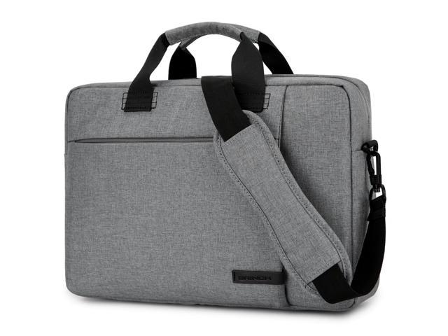 09b77713bf41 BRINCH Laptop Bag 15.6 Inch, Stylish Fabric Laptop Messenger Shoulder Bag  Case Briefcase for 15 - 15.6 Inch Laptop / Notebook / MacBook / Ultrabook /  ...