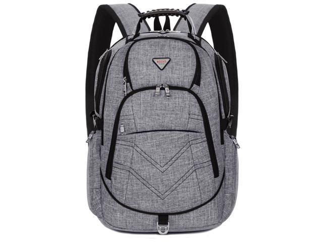 c56288ac9a7f SOCKO Laptop Backpack 15.6 Inch, Nylon Water-Resistant Durable Travel Bag  Hiking Knapsack Rucksack Backpack School College Student Shoulder Back Pack  ...
