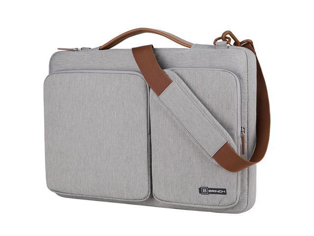 d758bee2637c BRINCH 15.6 Inch Laptop Bag w  Luggage Strap