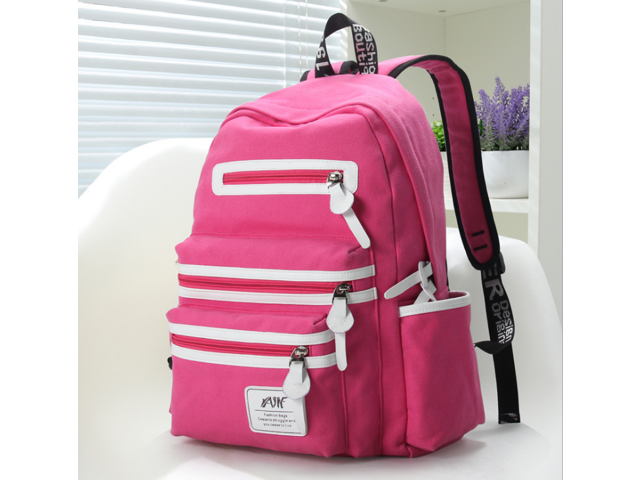 Yajie Bag Company Canvas Backpack 1a09a60a893ab