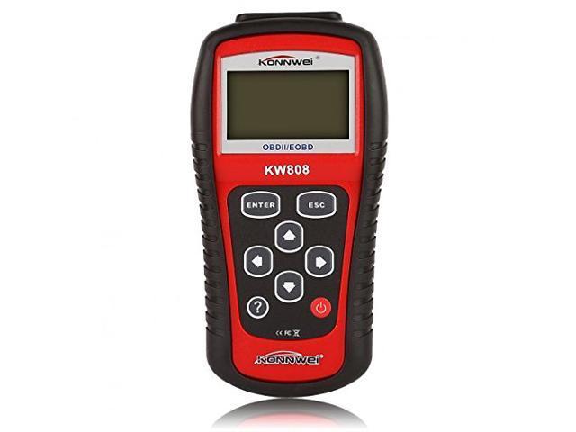 Vehicle Code Reader >> Konnwei Car Obd2 Scanner Redcarps Can Auto Obdii Eobd Car Vehicle Code Reader Diagnostic Scan Tool For Check Engine Light Work On All Obd2 Protocol