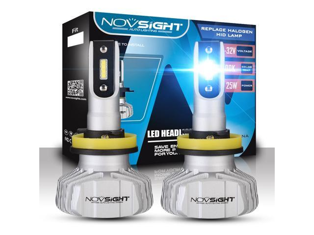 All-IN-ONE 80W H1 LED Headlight Conversion Kit-Replaces Halogen /& HID Bulbs