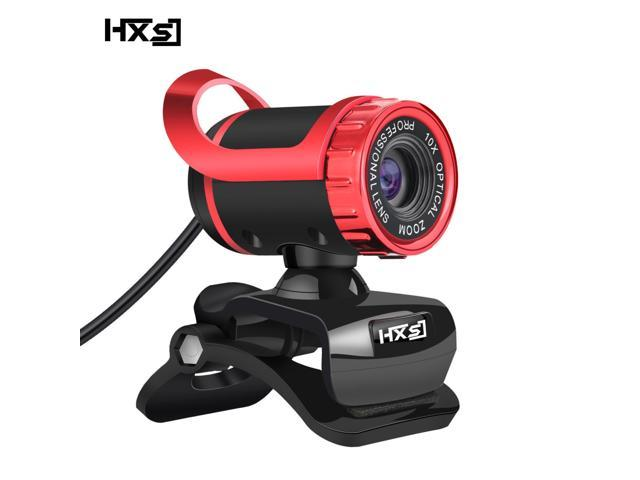 HXSJ Webcam 480P HD Video Web Camera HD with Microphone USB Plug and Play Web Cam Callling Recording for PC Computer Laptop ...