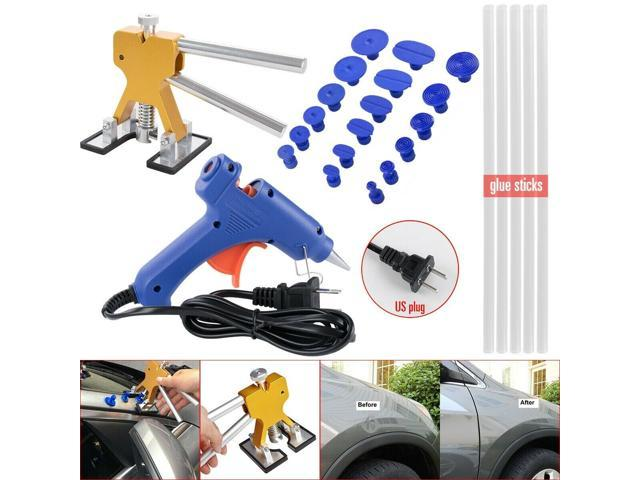 Car Auto Paintless Dent Repair Tool Puller Hail Removal Glue Pulling Tabs BD