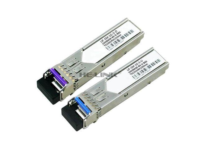 UBIQUITI Compatible UF-SM-1G-S-U//UF-SM-1G-S-D 1.25G 1310//1550nm 10km Transceiver