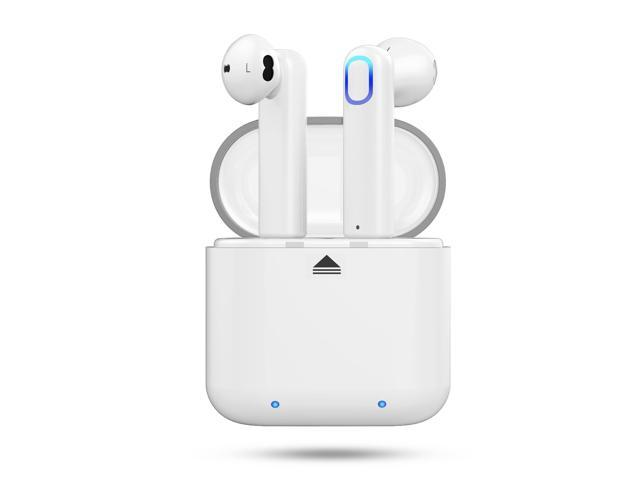 fed3eec435c Wireless Earbuds,Cshidworld Bluetooth Headphones Mini In-Ear Headsets  Sports Earphone with Noise Cancelling Built-in Mic and Charging Case for  iPhone ...
