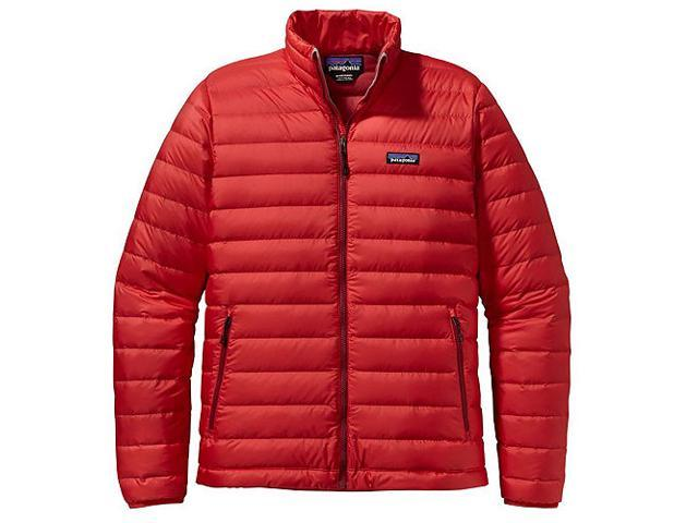 66fdf7e0f Patagonia Men's Down Sweater Jacket (French Red, Size XXL) - Newegg.com