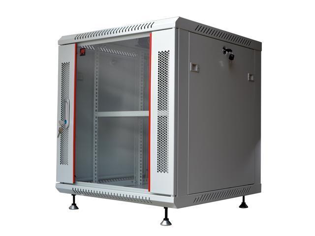 12u 24 Quot Deep Gray Wall Moun Network It Server Cabinet