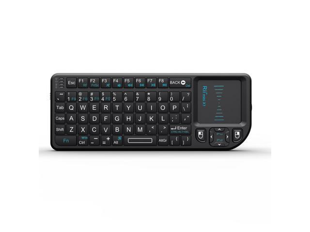 Rii Mini X1 RF Mini Wireless Keyboard Touchpad for PC Smart TV Android TV  Box - Newegg com