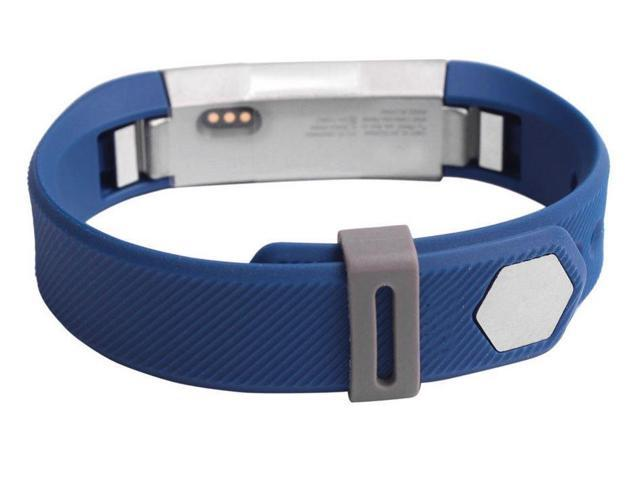 Hellfire - Silicone Security Wristband Clasp Ring Loop Fastener For Fitbit  Alta - Grey - Newegg com