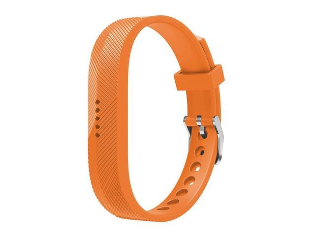 Replacement Wristband Bracelet Strap Band for Fitbit Flex 2 Classic Buckle  - Large - Orange - Newegg com