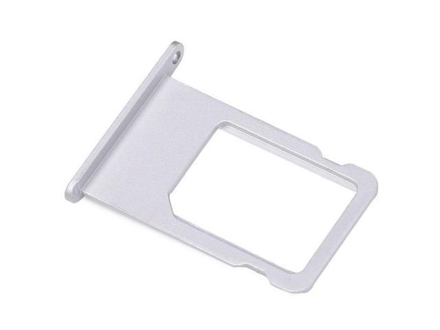 best service 30052 45e46 Hellfire Trading Replacement Sim Card Holder Slot Tray Silver for iPhone 6s  - Newegg.com