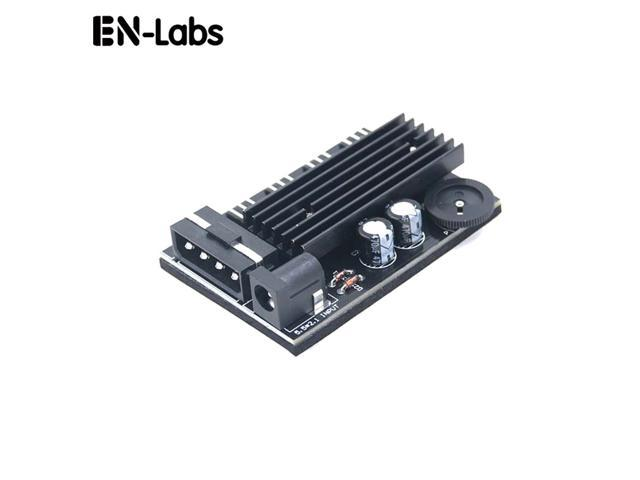 EnLabs TX3CO4D 4 Way 3 pin CPU Cooler Case Fan Speed Controller w/ Backed  Tap for Internal & Mining Cooling - Extra 5 5*2 1DC for Router Dissipate
