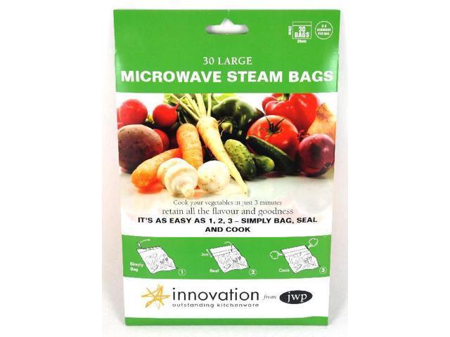 Jwp Microwave Steam Bags Pack Of 30