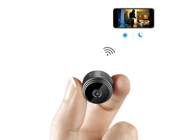 Mini Spy Camera WiFi Hidden Camera AOBO Wireless HD 1080P Indoor Home Small  Spy Cam Security bc69077d9
