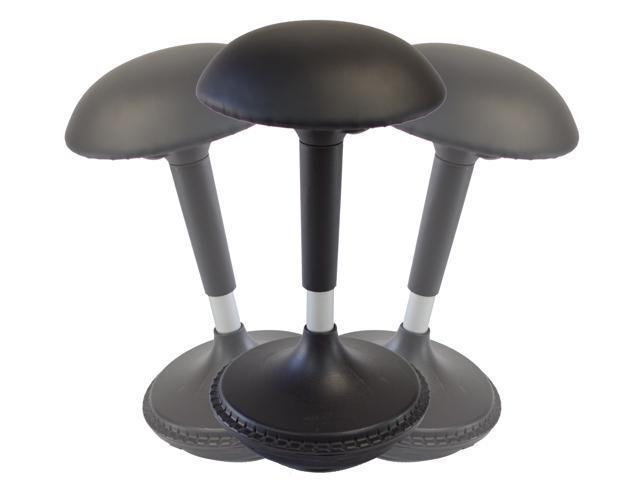 Wobble Stool Adjustable Height Active Sitting Balance ...