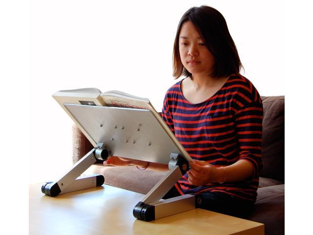 Adjustable Height And Angle Ergonomic Book Holder Reading