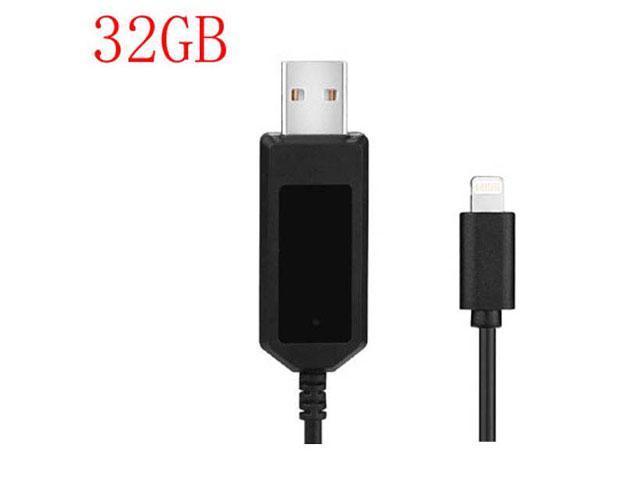 HD 1080P Charging Cable spy camera 32GB Mini Usb Cable Hidden Camera Phone Usb Cable Vedio
