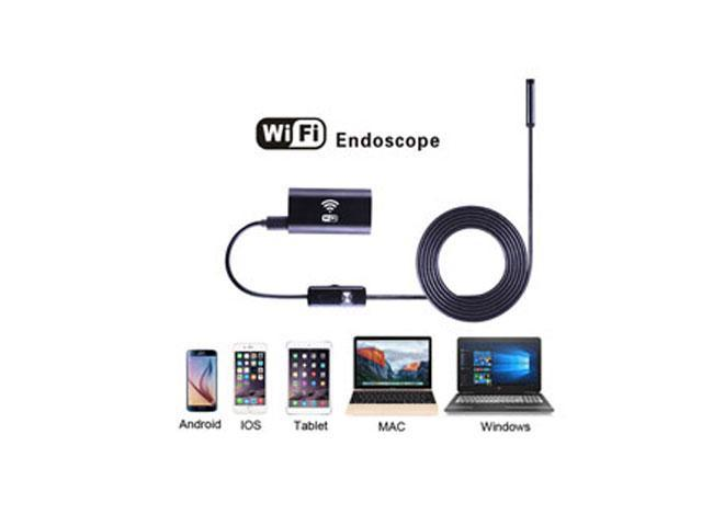 2M Soft Flexible Snake WIFI Endoscope Spy Camera 720P Wifi Mini Spy Camera  - Newegg com