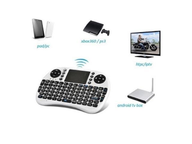 Vipwind Mini Rii I8 Fly Air Mouse Mini Wireless Keyboard Touchpad Remote Control for Xbox PS3
