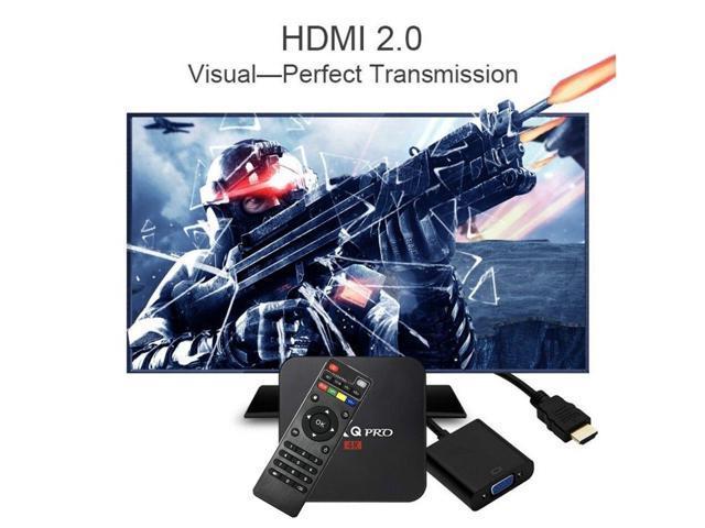 Vipwind Android 6 0 MXQ pro Amlogic Quad-core Smart TV Box 1GB 8GB HD 1080P  4k*2k Streaming Arabic Iptv Box Media Player - Newegg com