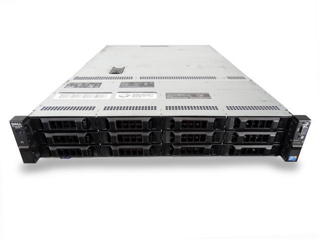 Dell PowerEdge R510 12-Bay LFF 2U Server, 2x L5630 2 13GHz 4C, 96GB DDR3,  12x 100GB SSDs, PERC H700, iDRAC 6 Express, 2x 570W PSUs, Rails - Newegg com