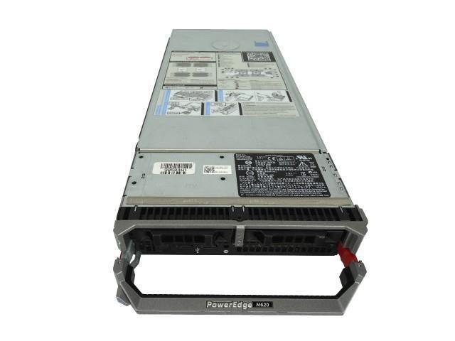 Dell PowerEdge M620 2-Bay SFF Blade Server, 2x E5-2697 V2 2 7GHz 12C, 96GB  DDR3, 2x Trays Included, PERC H310, iDRAC 7 Express - Newegg com