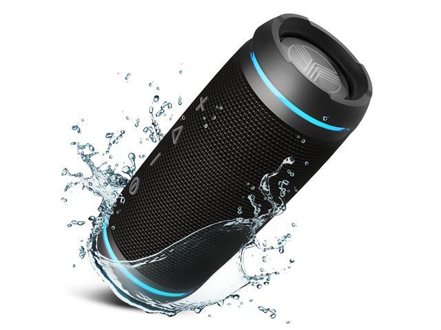TREBLAB HD77 Premium Bluetooth Speaker TWS - Loud HD Surround Sound, Wireless Dual Pairing, 25W Powerful Bass, 20H Battery, Best for Outdoor Sports - True Stereo IPX6 Waterproof Cordless