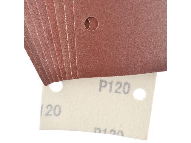 Hook Loop 1//3 Sheet Sanding Sander Sandpaper Pads 10 Pack 40 Grit