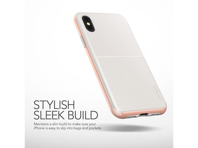 cheaper 4d3ac 64440 VRS Design [High Pro Shield] Slim Protective Case for iPhone X - White Rose  - Newegg.com
